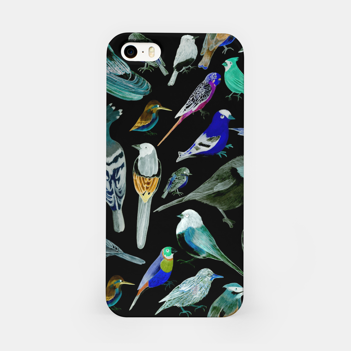 Foto Birds of America- pets and wild birds  iPhone Case - Live Heroes
