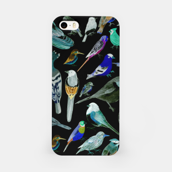 Birds of America- pets and wild birds  iPhone Case Bild der Miniatur