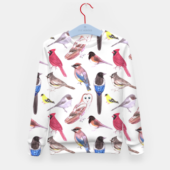 Imagen en miniatura de Birds of north carolina Kid's sweater, Live Heroes