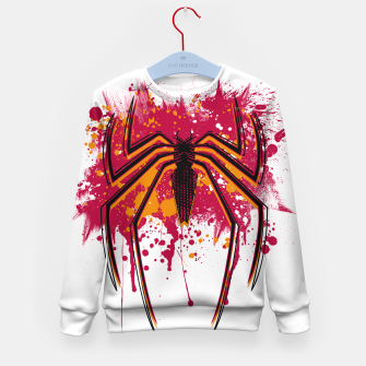 Thumbnail image of Spider hero Kid's sweater, Live Heroes