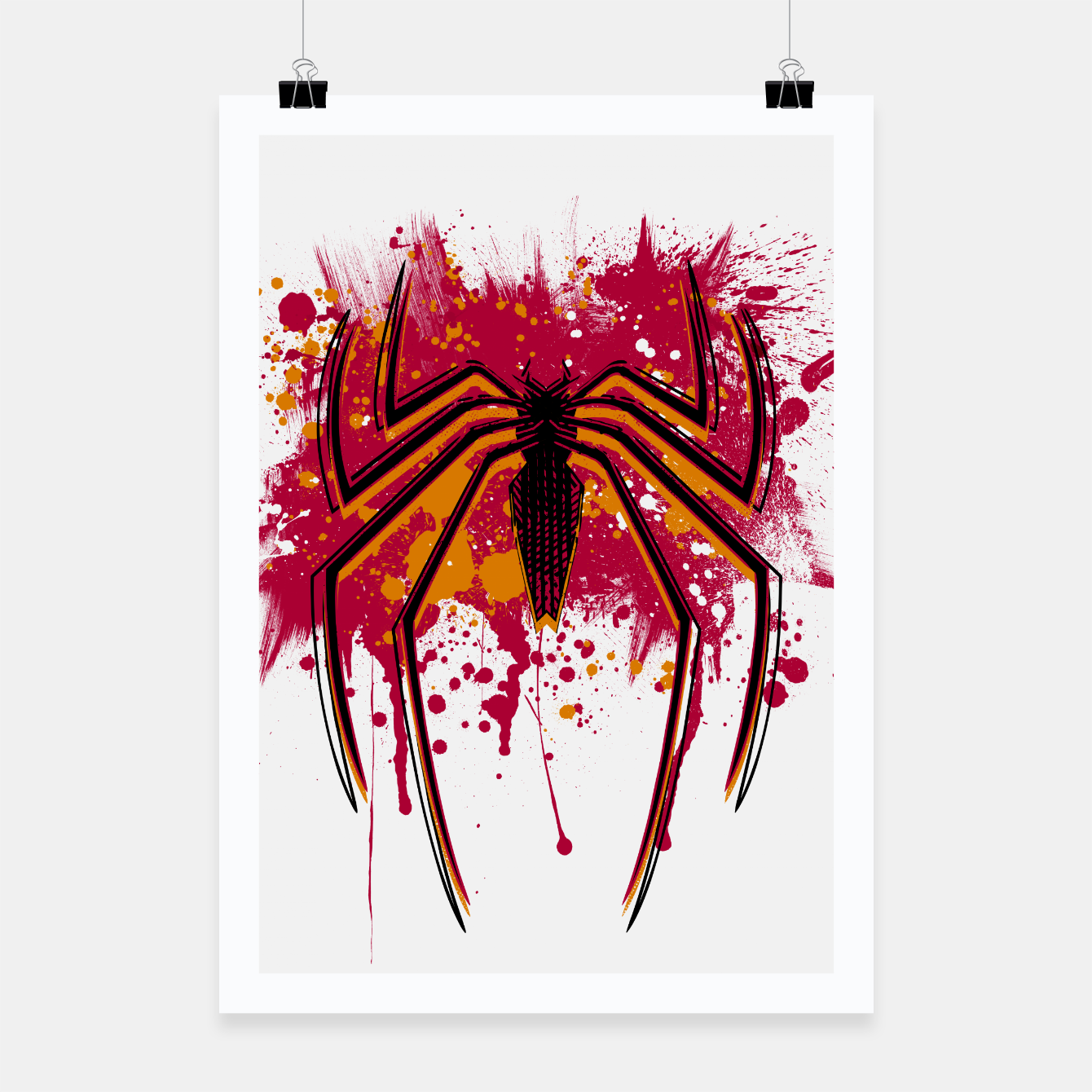 Image of Spider hero Poster - Live Heroes