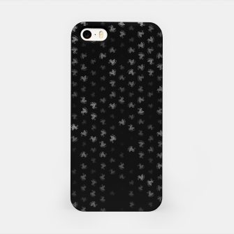 Miniatur sagittarius zodiac sign pattern bw iPhone Case, Live Heroes