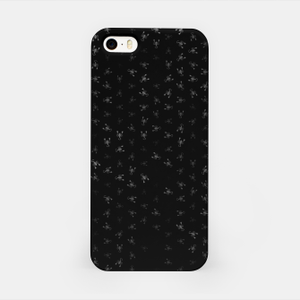 Miniatur scorpio zodiac sign pattern bw iPhone Case, Live Heroes
