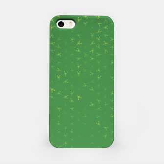 Miniatur scorpio zodiac sign pattern gr iPhone Case, Live Heroes
