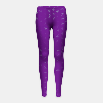 Thumbnail image of scorpio zodiac sign pattern pt Girl's leggings, Live Heroes