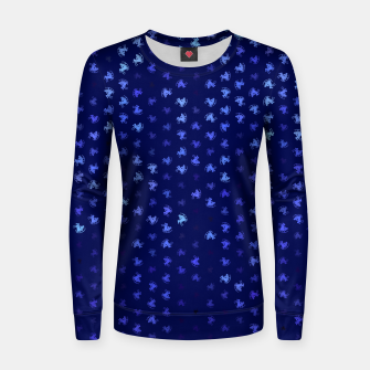 Miniature de image de sagittarius zodiac sign pattern std Women sweater, Live Heroes