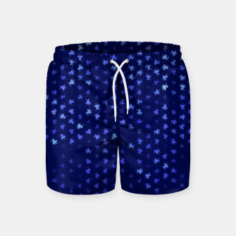Thumbnail image of sagittarius zodiac sign pattern std Swim Shorts, Live Heroes
