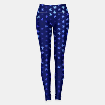 Thumbnail image of sagittarius zodiac sign pattern std Leggings, Live Heroes
