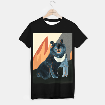 Thumbnail image of Taiga on fire 1 #charitableart Camiseta Regular, Live Heroes