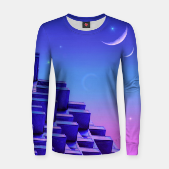 Thumbnail image of Double Moonlight Women sweater, Live Heroes