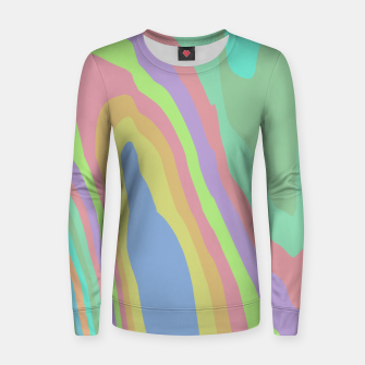 Thumbnail image of Pastel Rainbow Marble (LH075) Women sweater, Live Heroes
