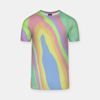 Thumbnail image of Pastel Rainbow Marble (LH075) T-shirt, Live Heroes