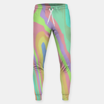 Thumbnail image of Pastel Rainbow Marble (LH075) Sweatpants, Live Heroes