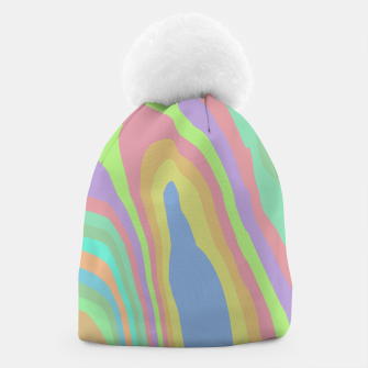 Thumbnail image of Pastel Rainbow Marble (LH075) Beanie, Live Heroes