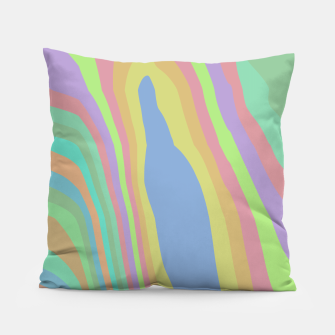 Thumbnail image of Pastel Rainbow Marble (LH075) Pillow, Live Heroes