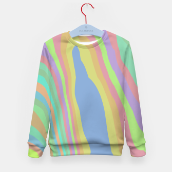 Thumbnail image of Pastel Rainbow Marble (LH075) Kid's sweater, Live Heroes