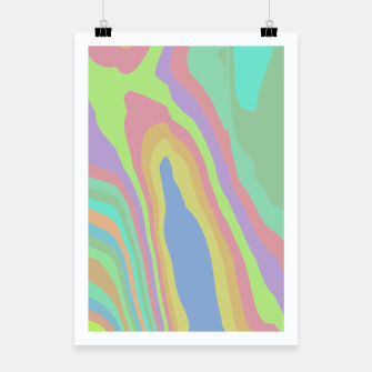 Thumbnail image of Pastel Rainbow Marble (LH075) Poster, Live Heroes