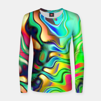 Blurry Vision Ripples (LH080) Women sweater thumbnail image