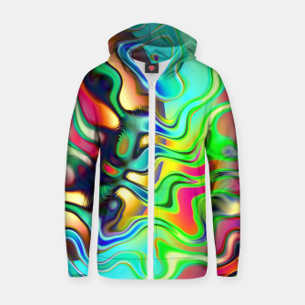 Blurry Vision Ripples (LH080) Zip up hoodie thumbnail image