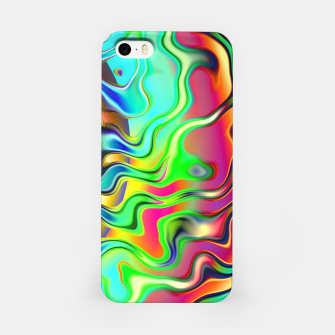 Blurry Vision Ripples (LH080) iPhone Case thumbnail image
