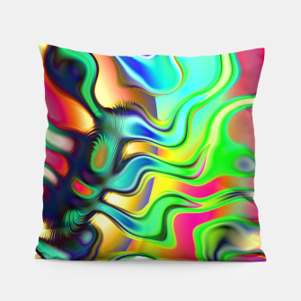 Blurry Vision Ripples (LH080) Pillow thumbnail image