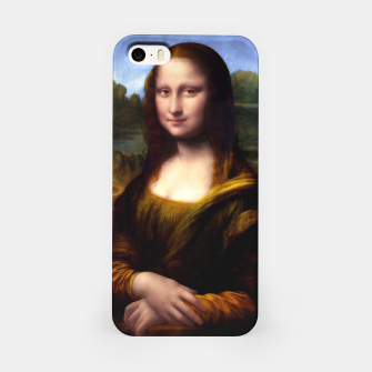 Thumbnail image of Mona Lisa by Leonardo da Vinci iPhone Case, Live Heroes