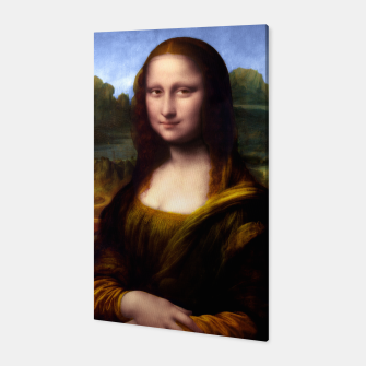 Thumbnail image of Mona Lisa by Leonardo da Vinci Canvas, Live Heroes