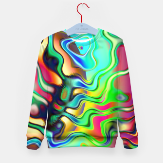 Blurry Vision Ripples (LH080) Kid's sweater thumbnail image