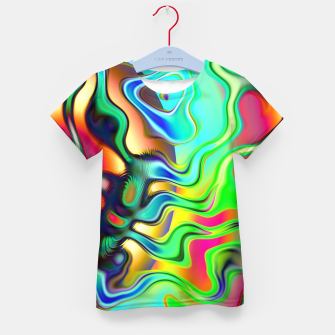 Blurry Vision Ripples (LH080) Kid's t-shirt thumbnail image