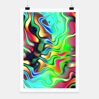 Thumbnail image of Blurry Vision Ripples (LH080) Poster, Live Heroes