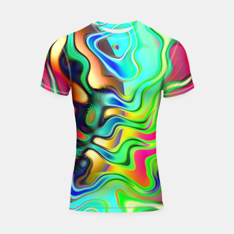 Thumbnail image of Blurry Vision Ripples (LH080) Shortsleeve rashguard, Live Heroes