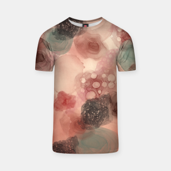 Thumbnail image of Multicolor Abstract  T-shirt, Live Heroes