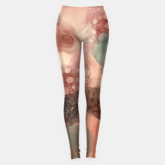 Thumbnail image of Multicolor Abstract  Leggings, Live Heroes
