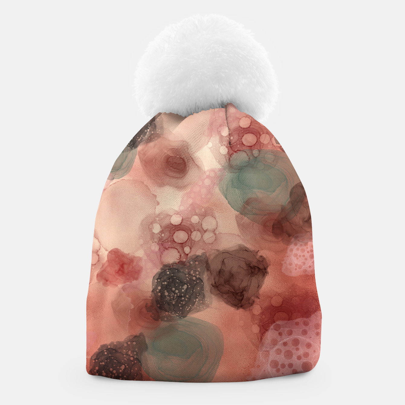 Image of Multicolor Abstract  Beanie - Live Heroes