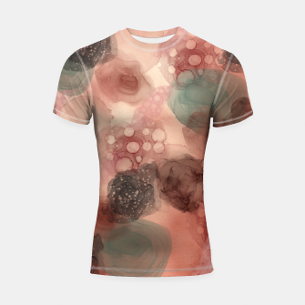 Thumbnail image of Multicolor Abstract  Shortsleeve rashguard, Live Heroes