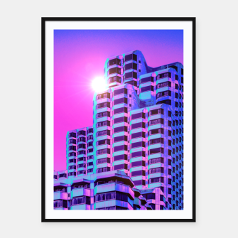 Thumbnail image of Morning Son Framed poster, Live Heroes