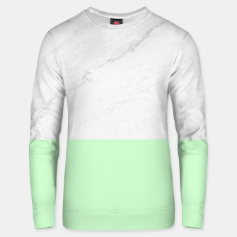 Thumbnail image of Marble vs Mint Unisex sweater, Live Heroes
