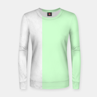 Thumbnail image of Marble vs Mint Women sweater, Live Heroes