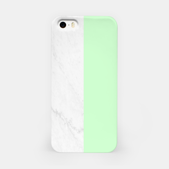 Thumbnail image of Marble vs Mint iPhone Case, Live Heroes
