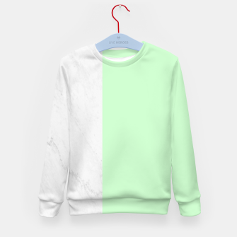 Thumbnail image of Marble vs Mint Kid's sweater, Live Heroes