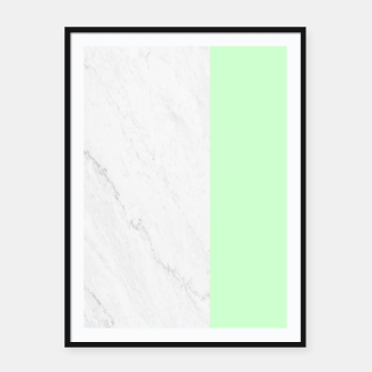Thumbnail image of Marble vs Mint Framed poster, Live Heroes