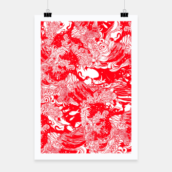 Miniatur Red waves Poster, Live Heroes