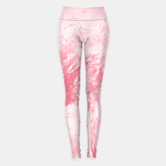 Thumbnail image of spotted madagascar fody wspw Leggings, Live Heroes