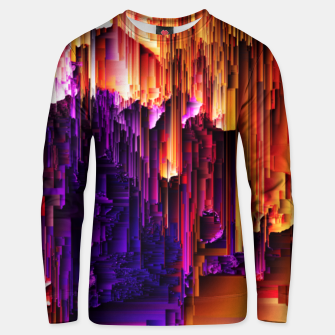 Thumbnail image of Fragmented Confusions Unisex sweater, Live Heroes