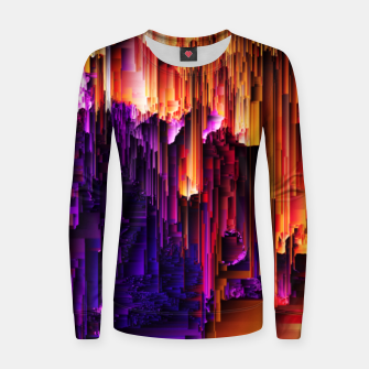 Miniatur Fragmented Confusions Women sweater, Live Heroes