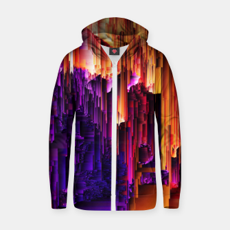 Thumbnail image of Fragmented Confusions Zip up hoodie, Live Heroes