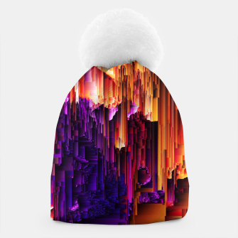 Miniatur Fragmented Confusions Beanie, Live Heroes