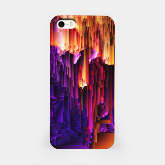 Miniatur Fragmented Confusions iPhone Case, Live Heroes