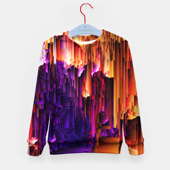 Miniatur Fragmented Confusions Kid's sweater, Live Heroes