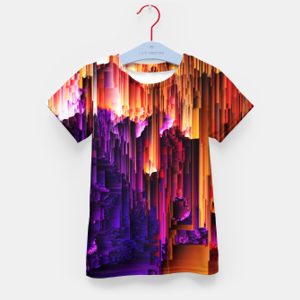 Miniatur Fragmented Confusions Kid's t-shirt, Live Heroes